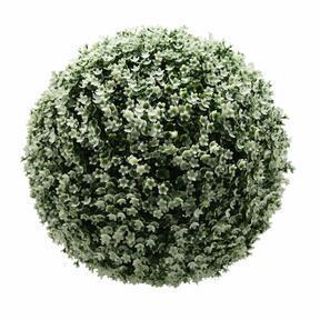 Artificial sphere Gypsophila white 45 cm