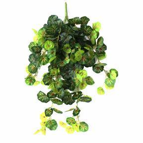 Artificial tendril Geranium green-red 80cm