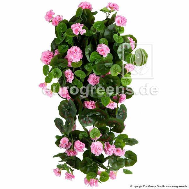 Artificial tendril Geranium pink 70 cm