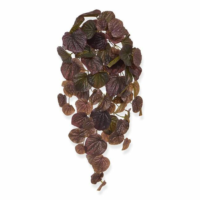 Artificial tendril Peperomia burgundy 60 cm