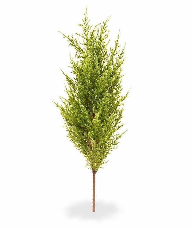 Artificial tree Cypress green-yellow 56 cm