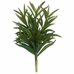 Artificial twig Dianthus green 17.5 cm