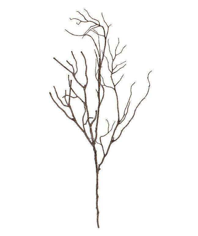 Artificial wooden branch 65 cm