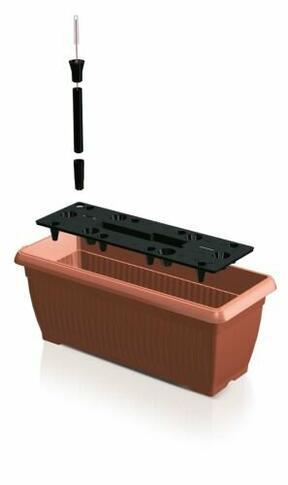 BALCONY CAN 60 cm box + irrigation system