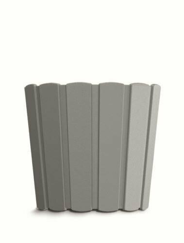 Flowerpot BOARDEE BASIC gray stone 14,4cm