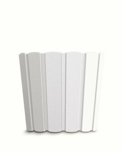 Flowerpot BOARDEE BASIC white 28,5cm