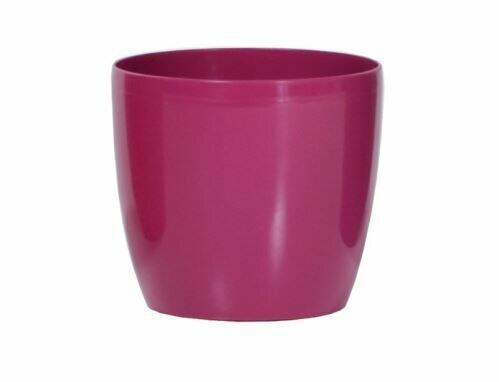 Flowerpot COUBI round fuchsia 9cm
