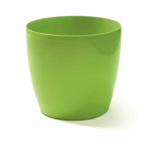 Flowerpot COUBI round green 9cm
