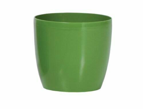 Flowerpot COUBI round olive 9cm