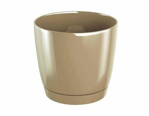 Flowerpot COUBI ROUND P with a bowl of coffee with milk 15.5 cm