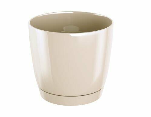 Flowerpot COUBI ROUND P with cream bowl 28cm
