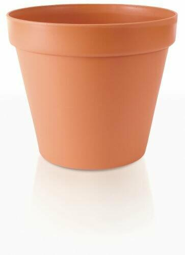 Flowerpot GLINKA terracotta 19cm