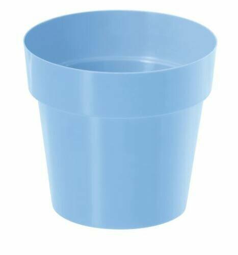 Flowerpot IML light blue 16cm