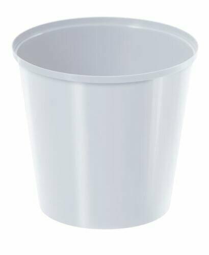 Flowerpot IML white 13cm
