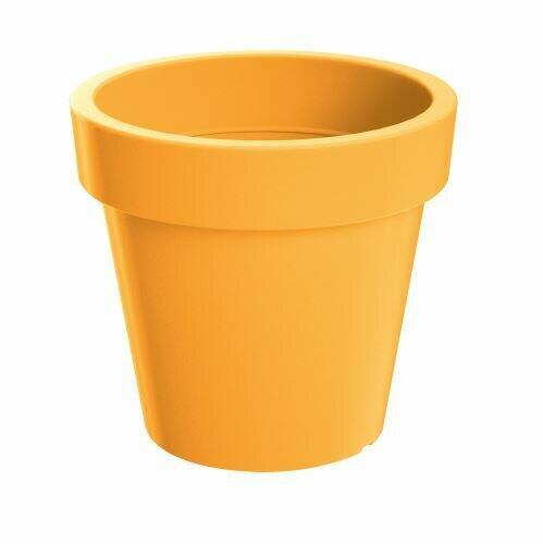 Flowerpot LOFLY Indian yellow 24.5 cm