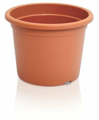 Flowerpot PLASTICA terracotta 28cm