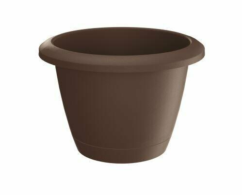 Flowerpot RESPANA BASIC brown 16.4 cm