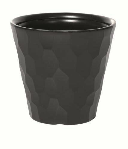 Flowerpot ROCKA anthracite 29.3 cm