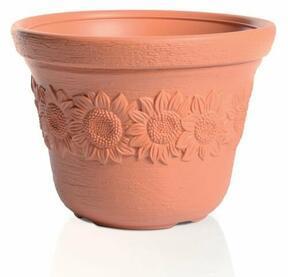 Flowerpot SUNNY brick 57cm