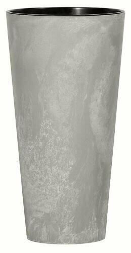 Flowerpot TUBUS SLIM BETON NEW gray 40cm