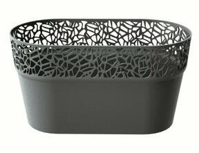 Lace box NATURO graphite 27.5 cm