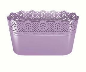 LACE lace lavender box 28.5 cm