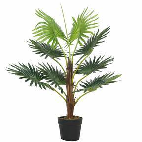 Livistona mini artificial palm tree 65 cm