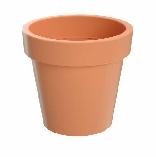 LOFLY terracotta flowerpot 15.8 cm