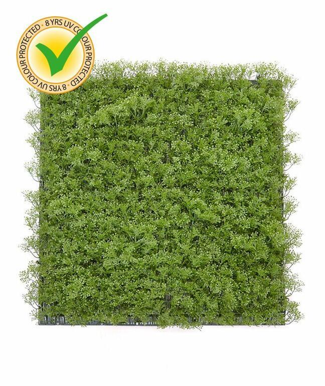 Mossmat artificial moss panel - 50x50 cm