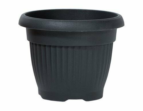 TERRA flowerpot round anthracite 40cm