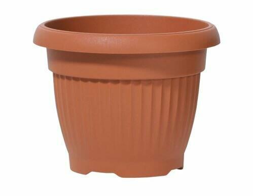 TERRA flowerpot round terracotta 20cm