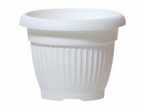 TERRA flowerpot round white 20cm