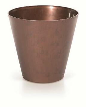 TUBUS CORTEN flowerpot patinating steel 40 cm